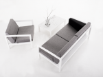Sundays design Frame bench lounge chair